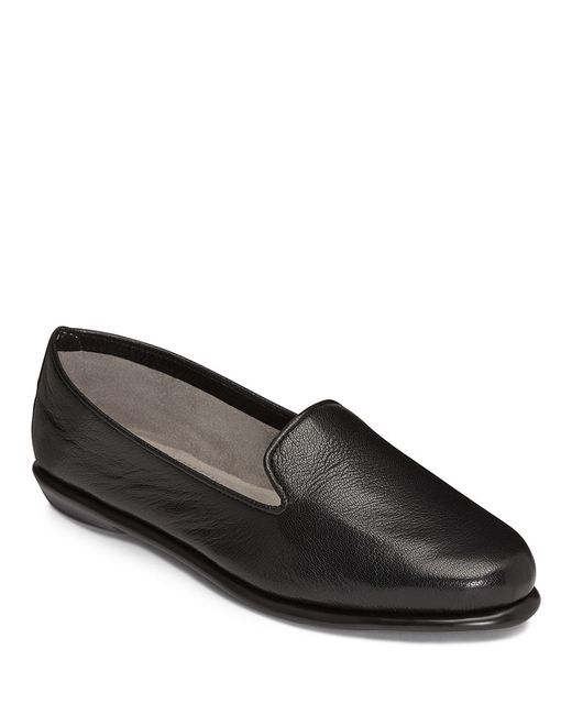 Aerosoles | Black Betunia Smoking Flat | Lyst