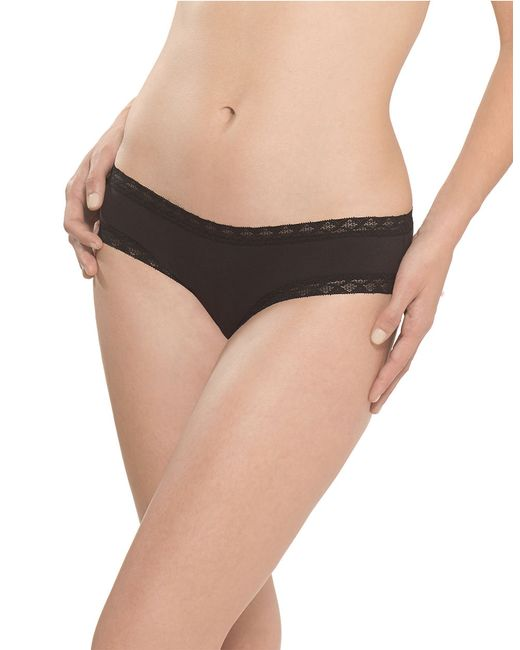 Natori | Black Bliss Girl Brief Panty | Lyst
