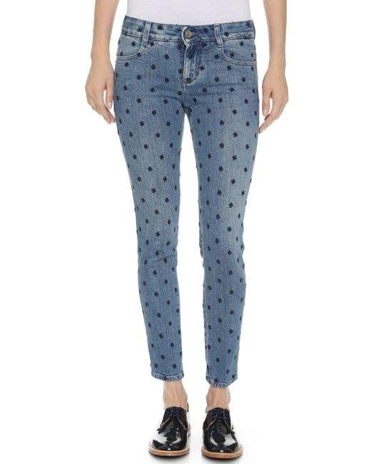 Stella McCartney | Blue - Skinny Jeans - Women - Cotton/polyester/spandex/elastane - 25 | Lyst