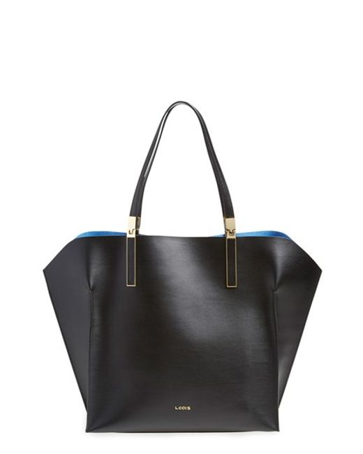 Lodis | Black 'blair Collection - Lucia' Leather Tote | Lyst