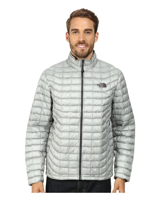 The North Face | Gray Thermoballtm Full Zip Jacket for Men | Lyst