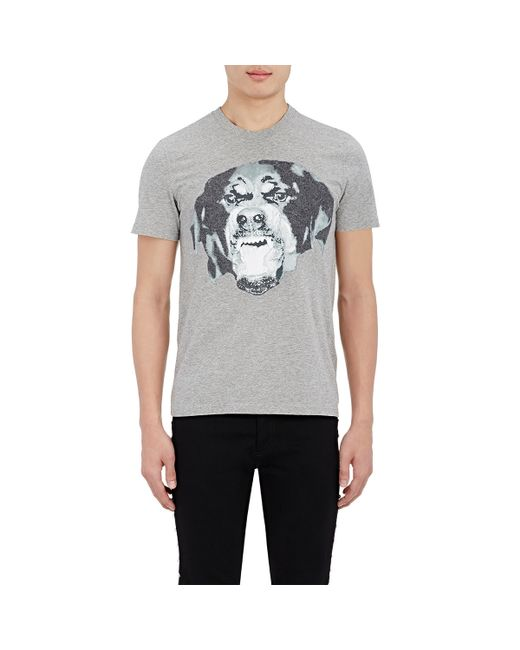 Givenchy 39 rottweiler 39 graphic t shirt in white save 68 for Givenchy t shirts for sale