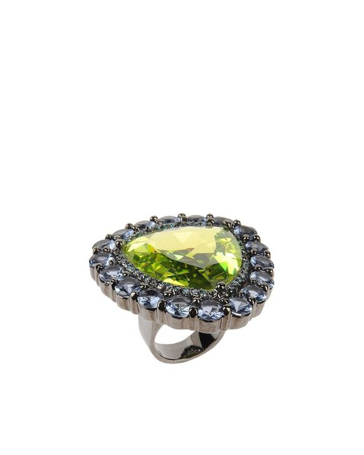 Noir Jewelry | Green Ring | Lyst