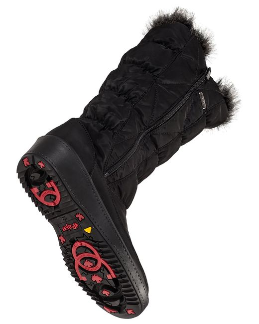 Pajar | Black June Faux-fur Lined Boots | Lyst