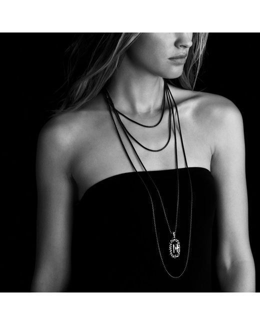 David Yurman   Blue Châtelaine® Pendant Necklace With Turquoise   Lyst
