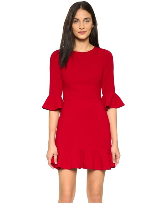 Black Halo | Red Brooklyn Dress | Lyst