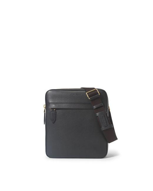 Pink Pony | Black Leather Flight Bag for Men | Lyst