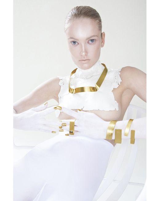 Noritamy | Metallic Med Obi Necklace | Lyst