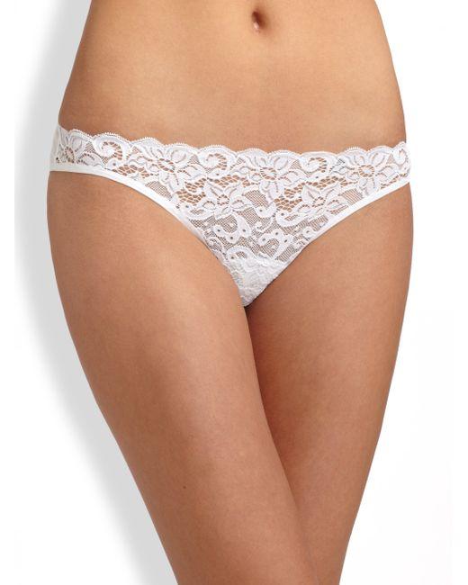 Hanro | White Luxury Moments Bikini | Lyst