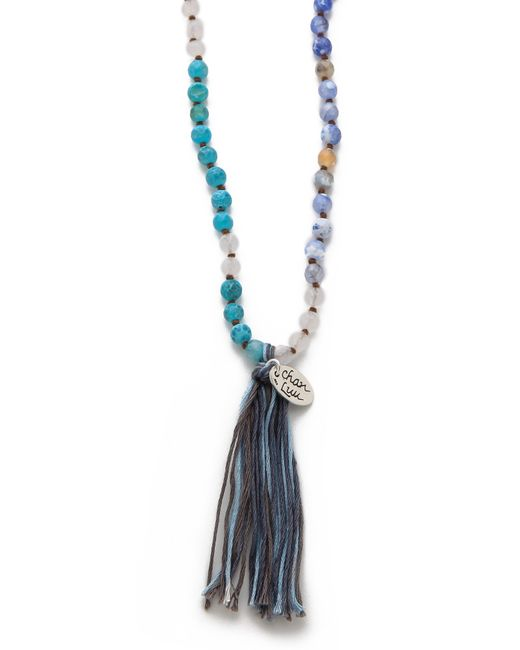 Chan Luu | Blue Tasseled Amazonite Long Necklace | Lyst