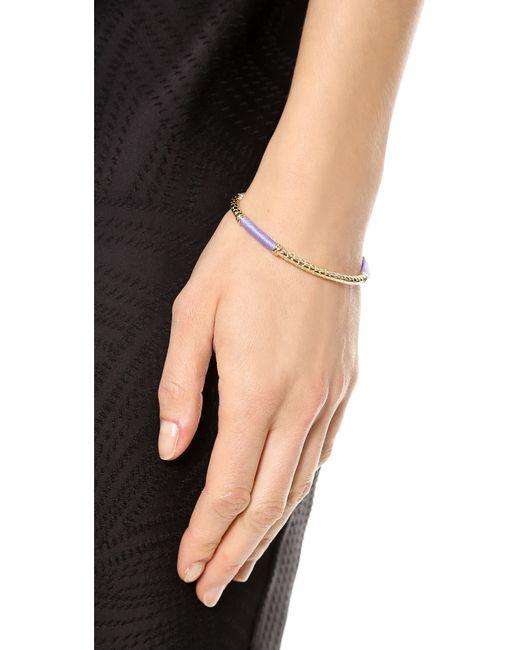 Aurelie Bidermann | Metallic Soho Bracelet | Lyst