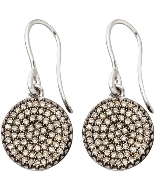 Astley Clarke   Small Icon 14ct White Gold Drop Earrings   Lyst