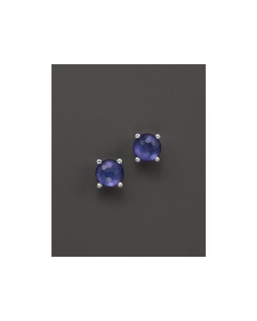 Ippolita   Purple Rock Candy Mini Stud Earrings In Viola   Lyst