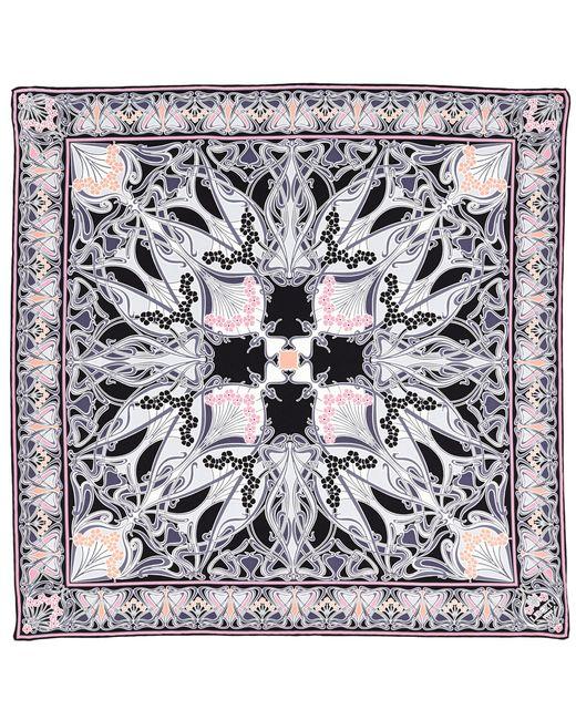 Liberty | Black New Ianthe 70x70 Silk Scarf | Lyst
