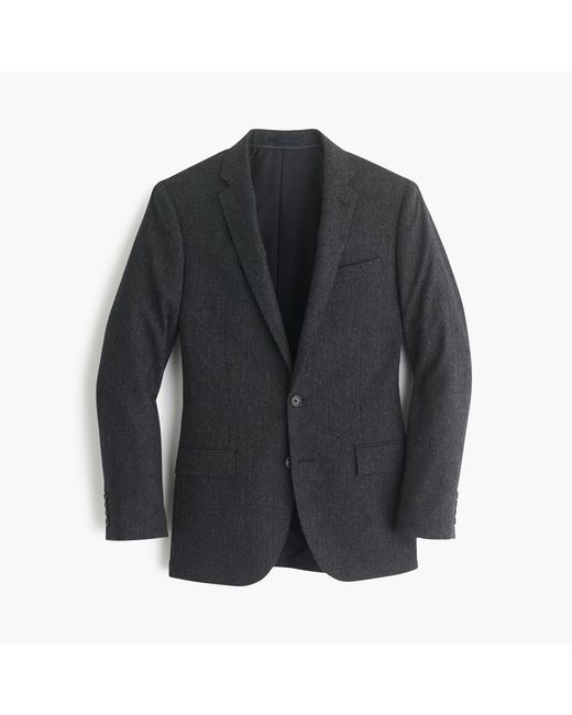 J.Crew | Gray Ludlow Suit Jacket In English Donegal Tweed for Men | Lyst