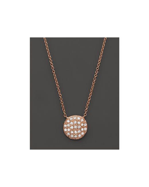 Dana Rebecca   Metallic 14k Rose Gold Lauren Joy Medium Necklace With Diamonds   Lyst