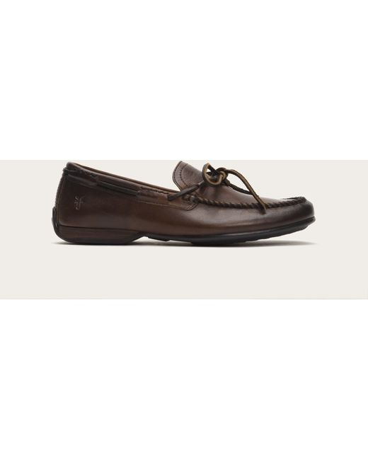 Frye | Brown Lewis Tie for Men | Lyst