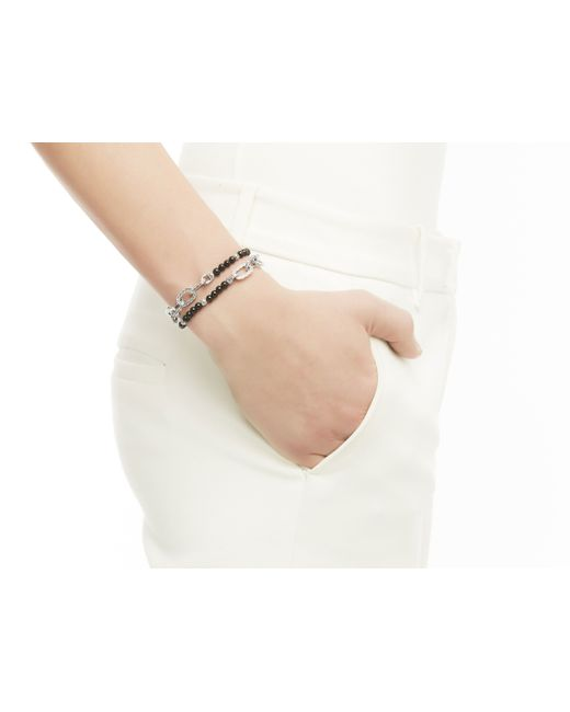 John Hardy | Naga Wrap Bracelet With Black Chalcedony | Lyst