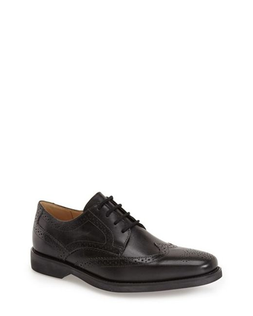 Anatomic & Co | Black 'tucano' Wingtip for Men | Lyst