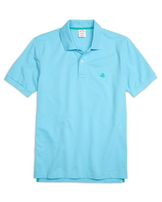 Brooks Brothers | Blue Golden Fleece® Original Fit Performance Polo Shirt for Men | Lyst