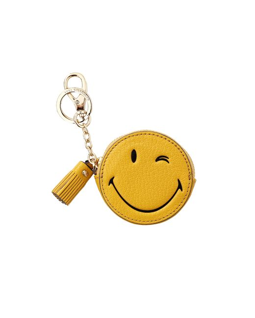 Anya Hindmarch | Yellow Wink Coin Purse | Lyst
