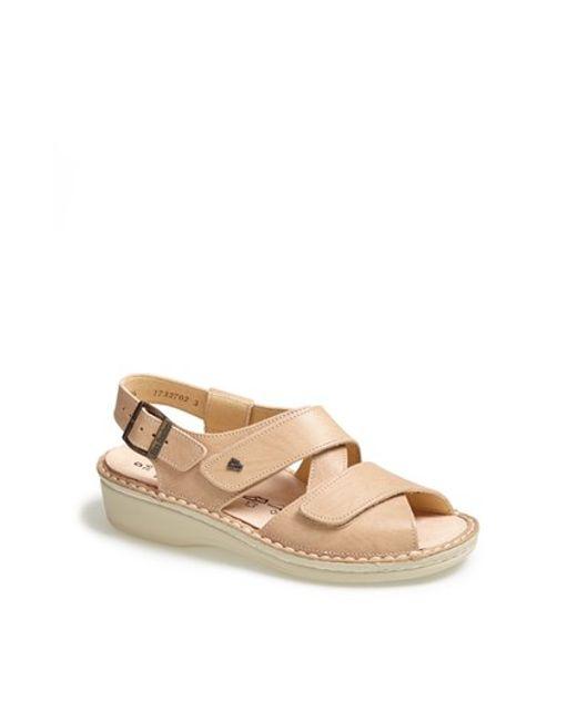 Finn Comfort | Natural 'jersey' Sandal | Lyst