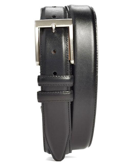 Allen Edmonds | Black Classic Wide Belt for Men | Lyst