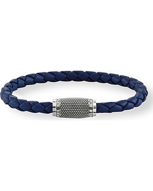 Thomas Sabo | Metallic Rebel At Heart Leather Unity Bracelet | Lyst
