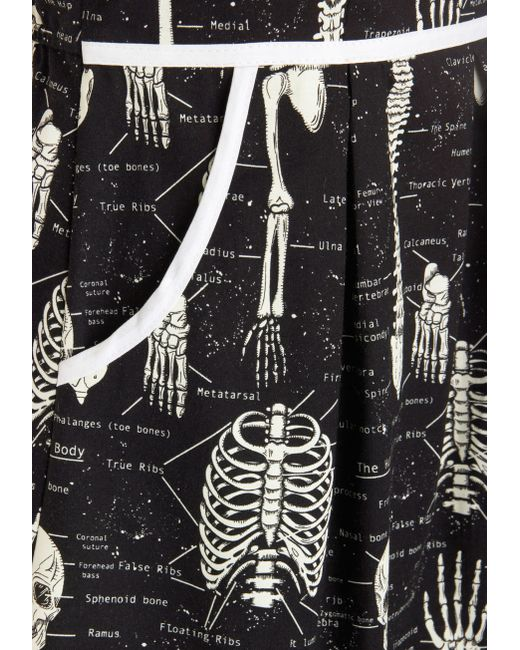 Folter Inc | Black Rad To The Bone Dress In Homo Sapiens | Lyst