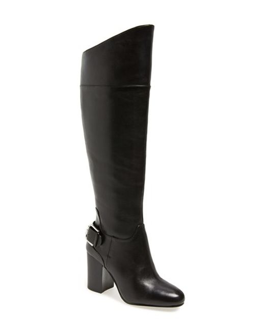 Vince Camuto | Black 'sidney' Riding Boot | Lyst
