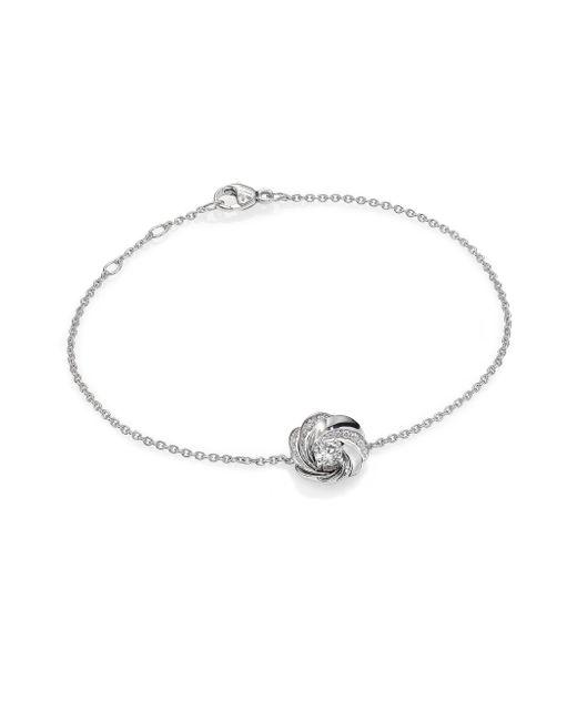 De Beers | Aria Diamond & 18k White Gold Chain Bracelet | Lyst