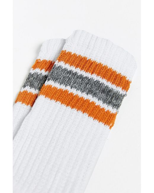 Urban Outfitters | Yellow Stripe Gym Sock for Men | Lyst