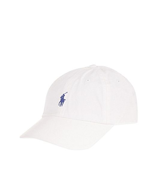 Polo Ralph Lauren | White Classic Pony Baseball Cap for Men | Lyst