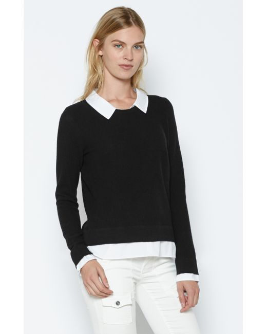 Joie | Black Rika Layered Sweater | Lyst