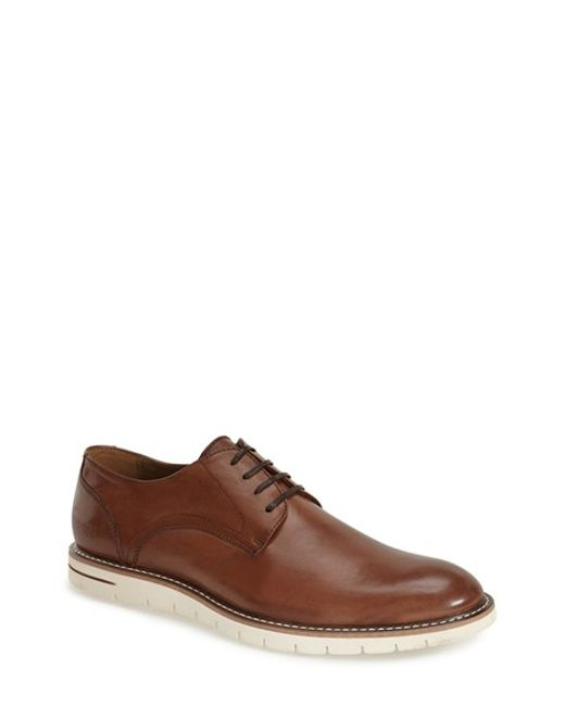 Kenneth Cole Reaction | Brown 're-vamp' Plain Toe Derby for Men | Lyst