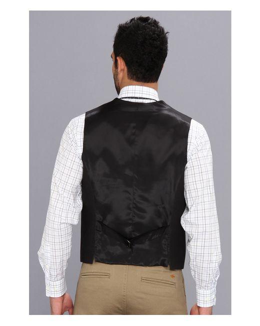 Perry Ellis | Gray Slim Fit Heather Texture Suit Vest for Men | Lyst