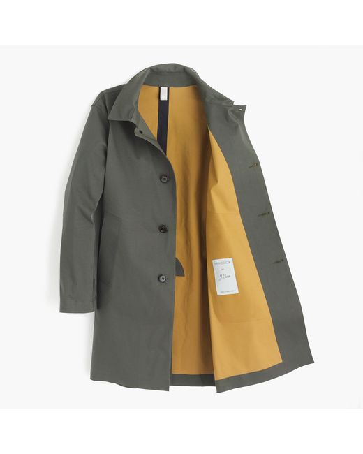 Hancock Article 41 Raincoat in Green for Men (olive)