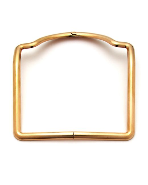 Caterina Zangrando | Metallic Sara Gold Plated Necklace | Lyst