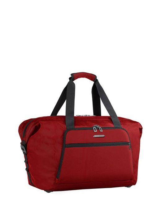 Briggs & Riley | Red Transcend Duffel Bag for Men | Lyst