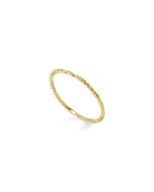 Lagos | Metallic 18k Gold Stacking Ring | Lyst