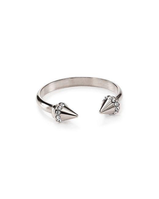 Vita Fede | Silver Ultra Mini Titan Crystal Ring | Lyst