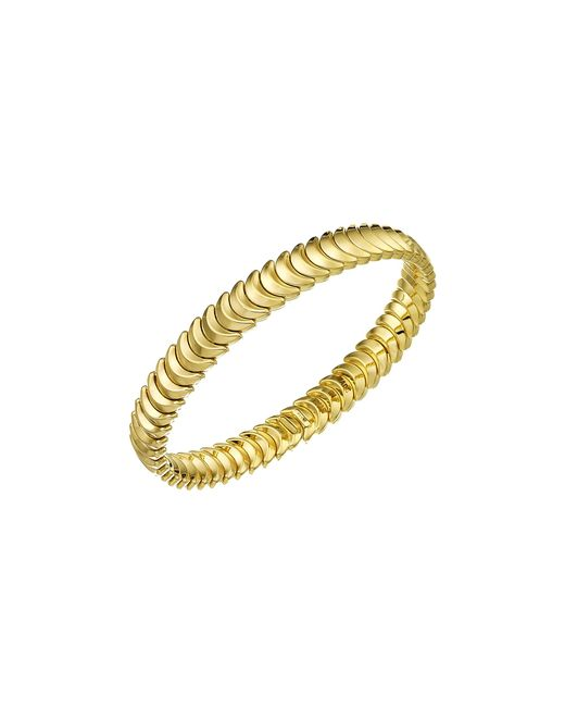 Chimento | Metallic 18k Yellow Gold Armillas Collection Ridge Curve Bracelet | Lyst
