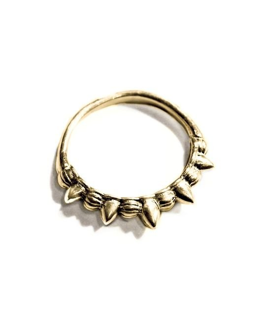 Pamela Love | Metallic Spike Midi Ring | Lyst