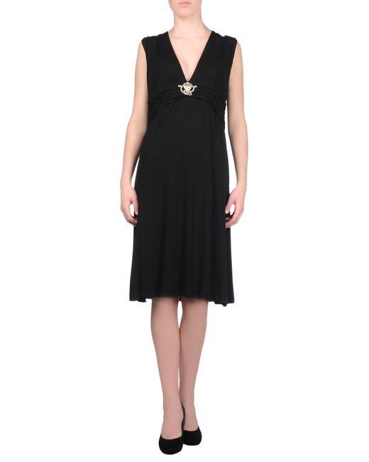 Roberto Cavalli | Black Knee-length Dress | Lyst