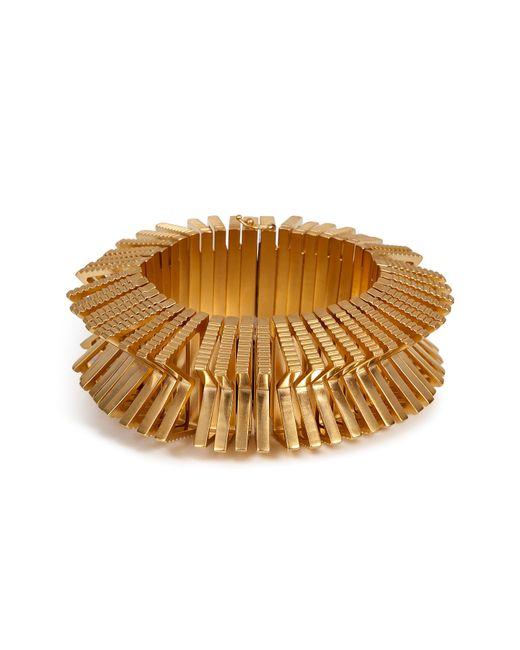 Eddie Borgo   Metallic Textured Bracelet   Lyst
