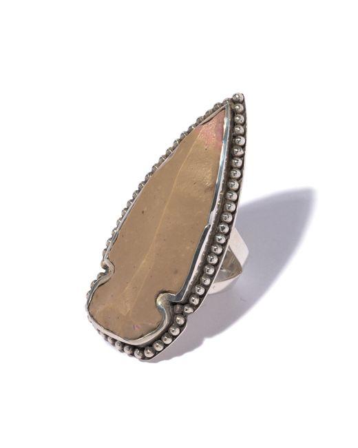 Pamela Love | Brown Flint Ring - Size 6 | Lyst