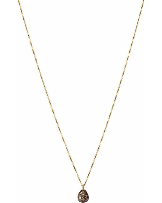 Links of London | Metallic Hope 18ct Yellow-gold And Pave Diamond Necklace | Lyst