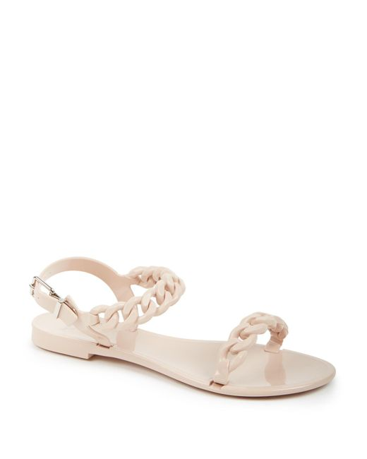 Givenchy | Natural Nea Jelly Flat Sandals | Lyst