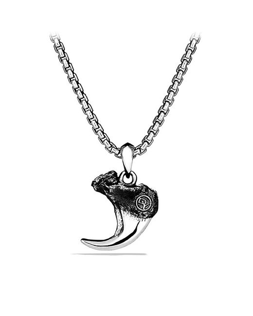 David Yurman | Metallic Petrvs Bobcat Claw Amulet | Lyst