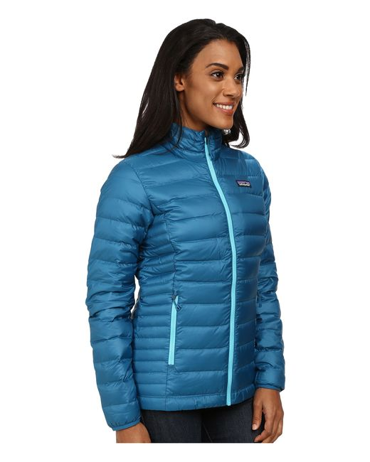 Patagonia | Blue Down Sweater Jacket | Lyst
